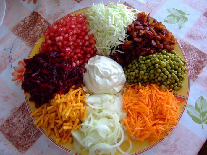 салат козочка рецепты с фото