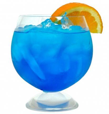 коктейли с синем ликером рецепты с фото