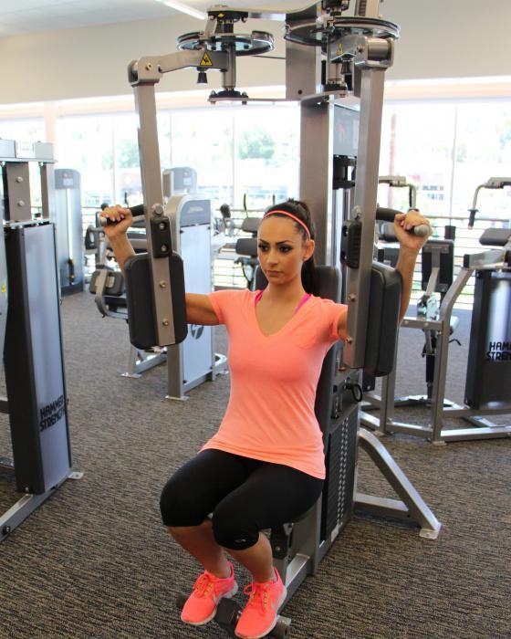 силовые упражнения для грудных мышц