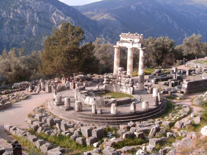 sights of the island of Crete, Greece