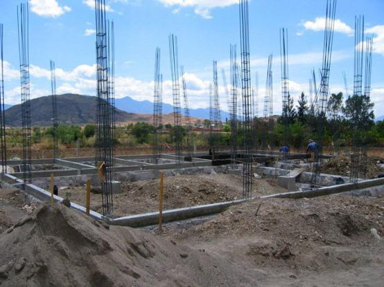 residential house construction stages