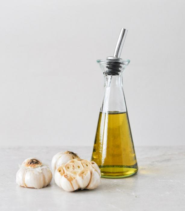чесночное масло