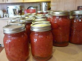 заготовки помидоры в собственном соку
