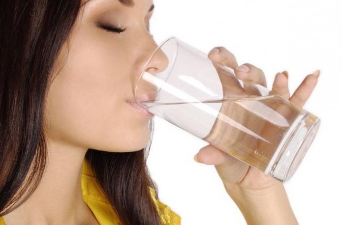 похудеть за месяц на воде