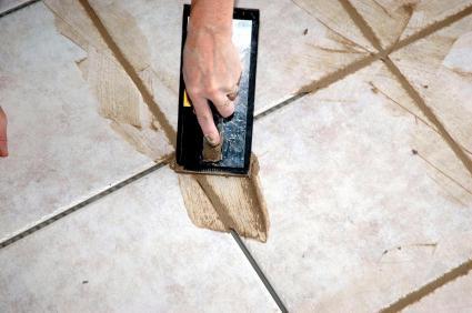 كيفية وضع البلاط على الأرض