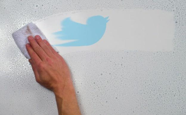 как удалить все твиты сразу с телефона