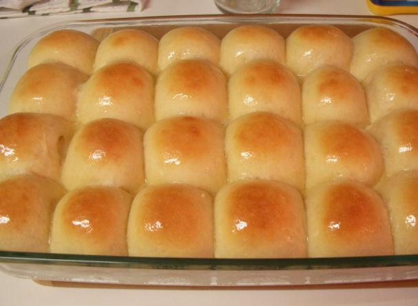 Дрожжевых булочек в духовке с фото