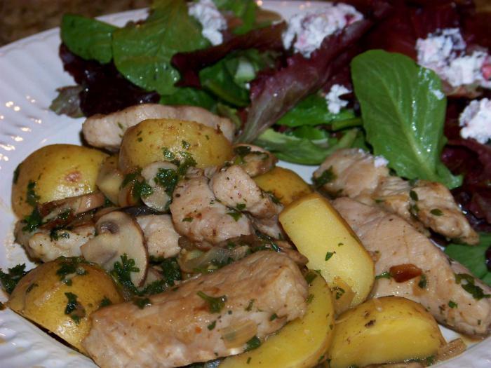 простой рецепт со свининой в духовке