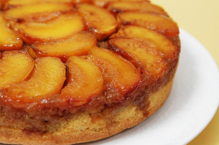 peach and cottage cheese pie