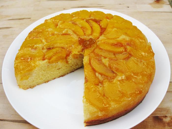 Творожный пирог с персиками рецепт 👌 с фото пошаговый ...