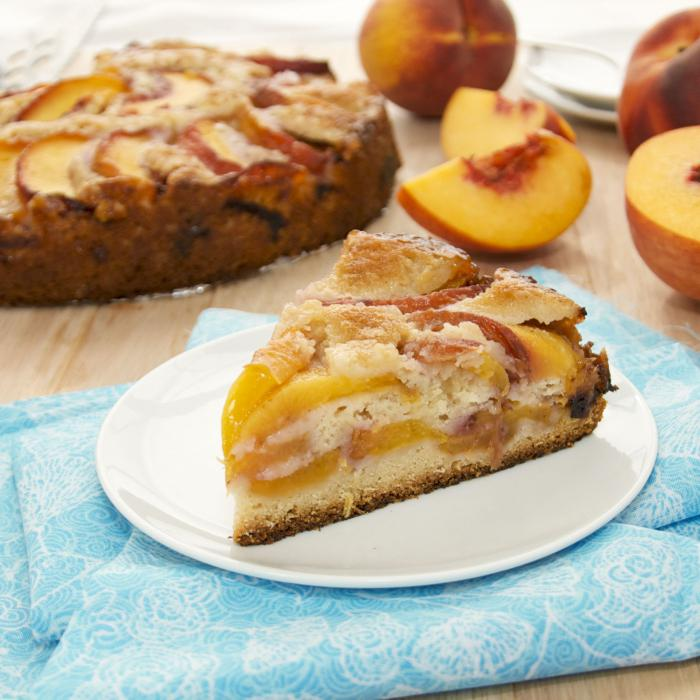 canned peach pie