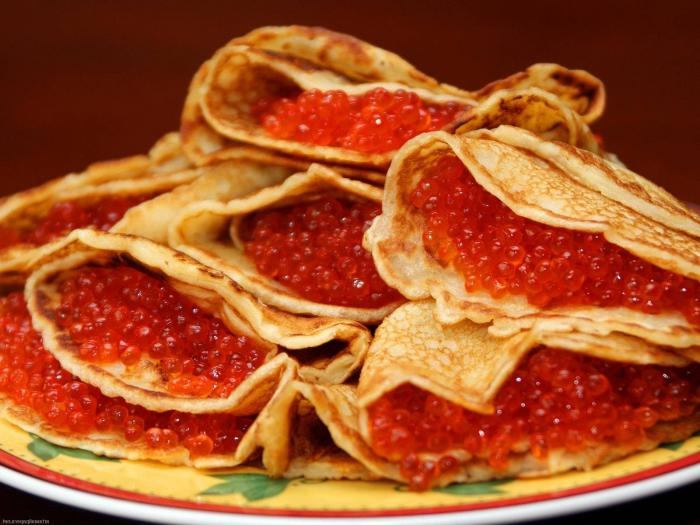 Полезные свойства и калорийность красной икры. Бутерброд с красной икрой: калорийность