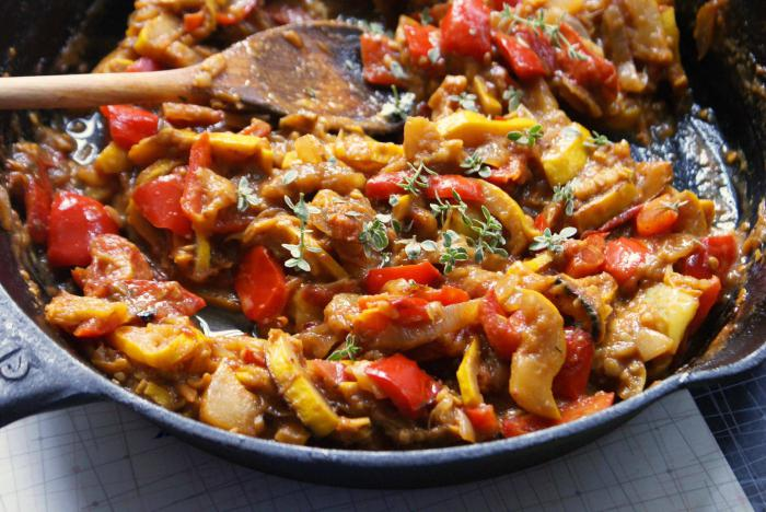 how to cook ratatouille in the oven