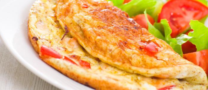 Омлет с помидорами: рецепты
