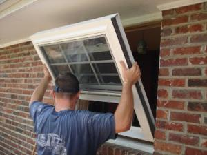 installation of plastic windows in a wooden house with their own hands