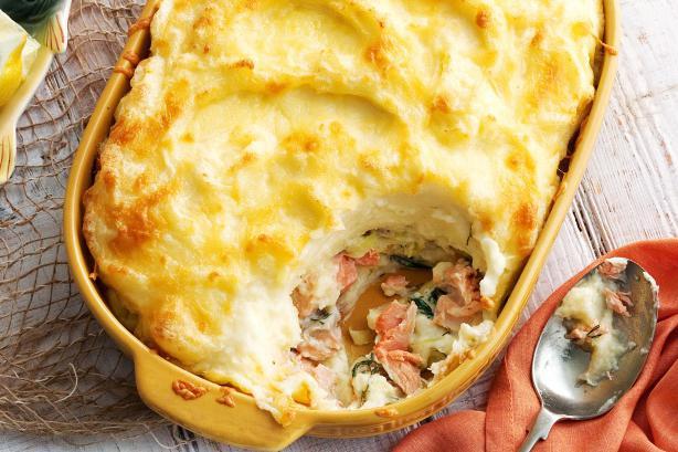 запеканка рыбная с картофелем в духовке рецепт