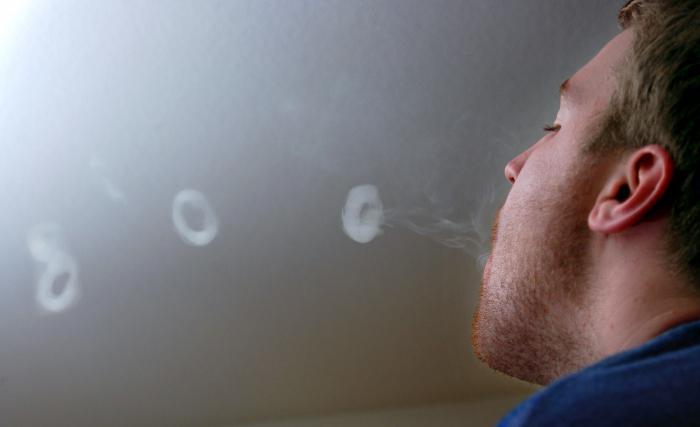 Видео как делать кольца из дыма