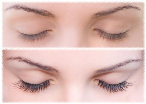 castor oil helps lash growth