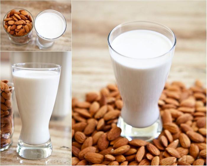 Молоко с миндалем