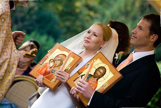 С какой иконой встречают молодых родители жениха