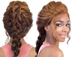 французская коса схема плетения