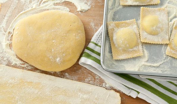 unleavened pastry dough