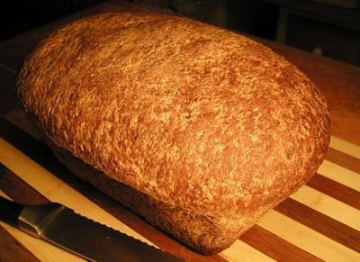 Домашний ХЛЕБ! Рецепт хлеба из ЦЕЛЬНОЗЕРНОВОЙ муки, в ...