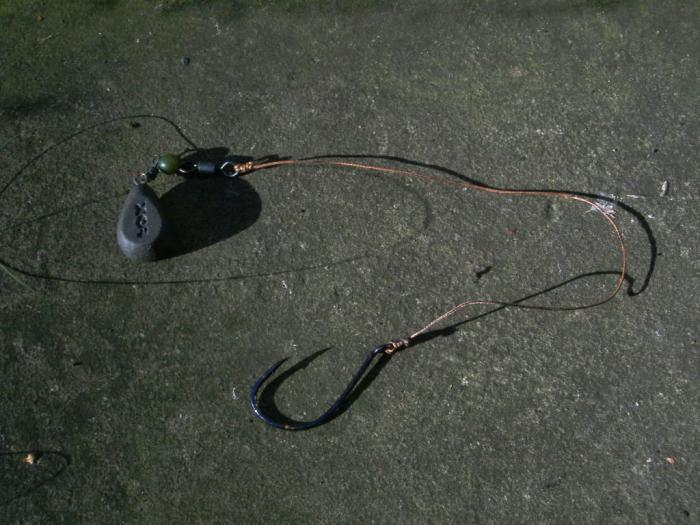изготовление снасти для ловли толстолобика