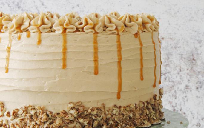 Масляный крем со сгущенкой для украшения торта