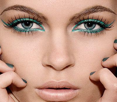 макияж для серо голубых глаз фото