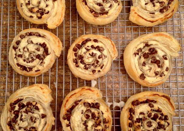 Рецепт слоеного печенья с вареньем