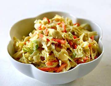 cabbage salad carrot vinegar
