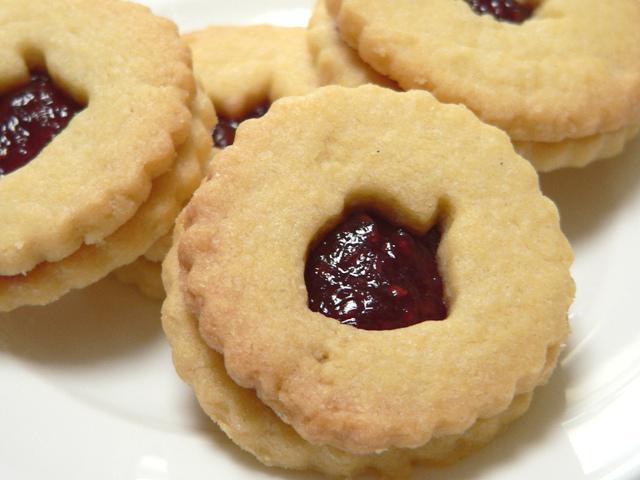Рецепт песочные печенья с вареньем - Песочное тесто. Рецепт с фото
