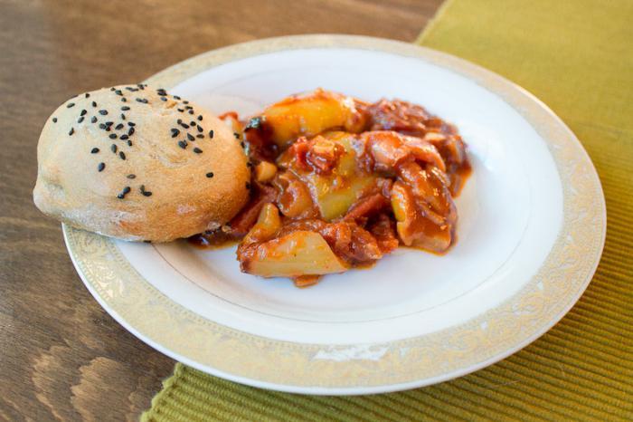 рецепт приготовления лечо с томатной пастой лечо