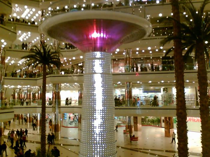 Shopping centers in Istanbul