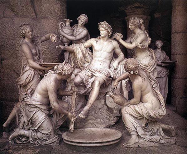 Древнегреческие боги сочетания