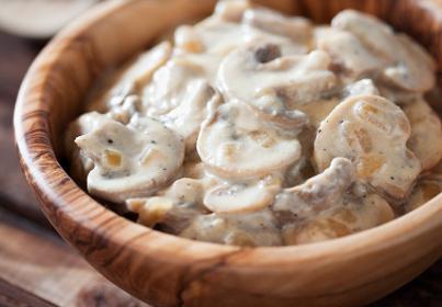 как жарить белые грибы замороженные