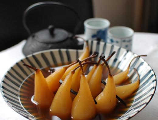 dessert of apples and pears