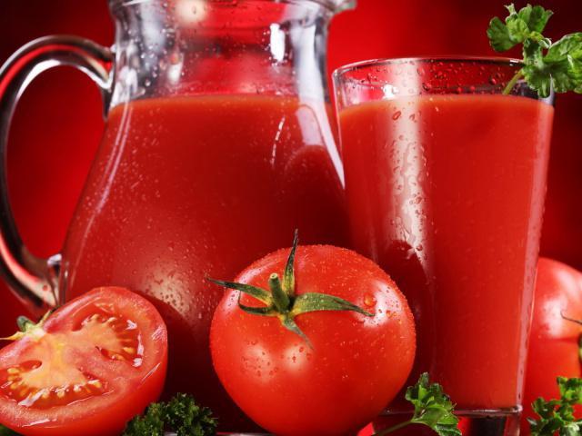 томатный сок в соковарке