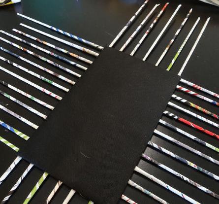 плетение шкатулки из бумаги