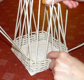 техника плетения из бумаги