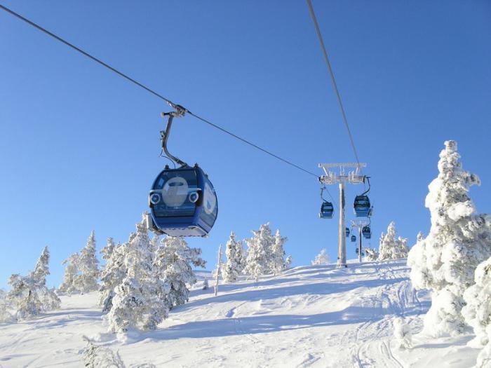 the best ski resorts in Finland