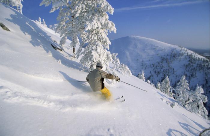 ski resort hand finland
