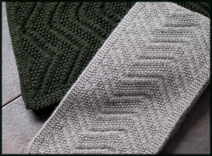 Узоры для шарфа связать