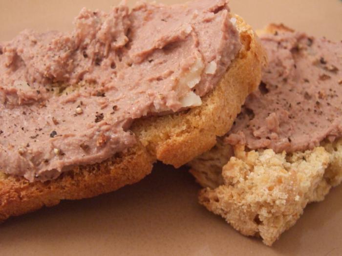 Как делать бутерброды с печенью трески?