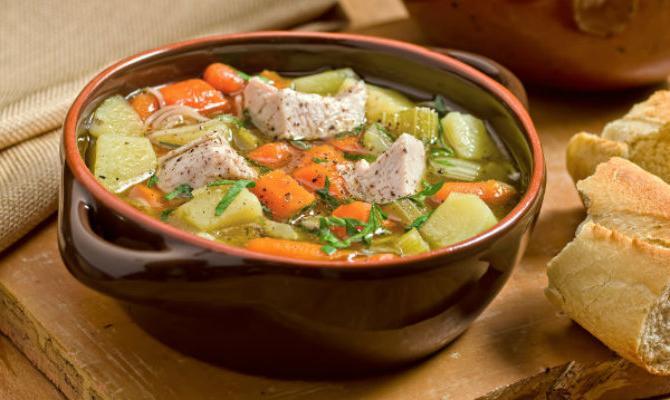 Fillet Turkey Soup