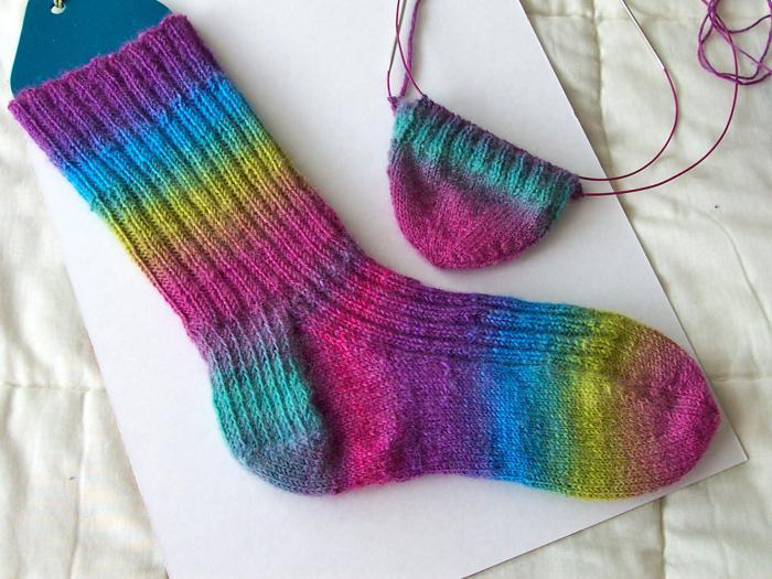 Виды вязания носков на спицах схемы