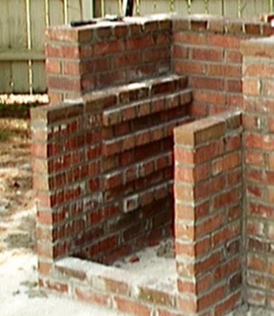 Brick grills are capitals.