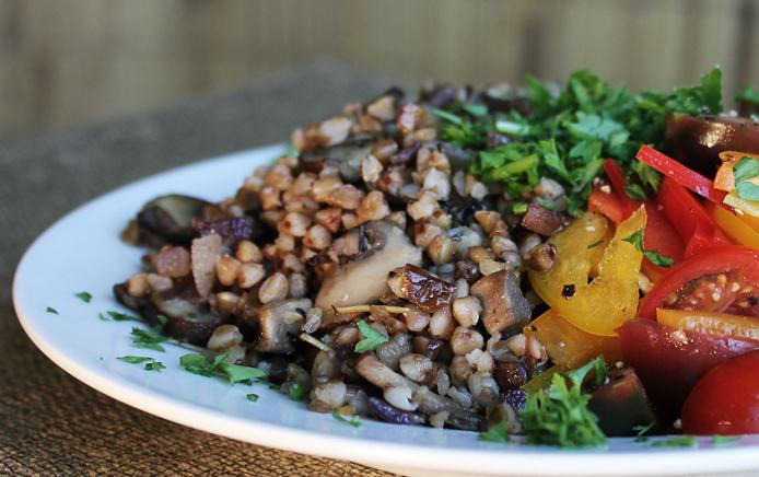 buckwheat with vegetables recipe