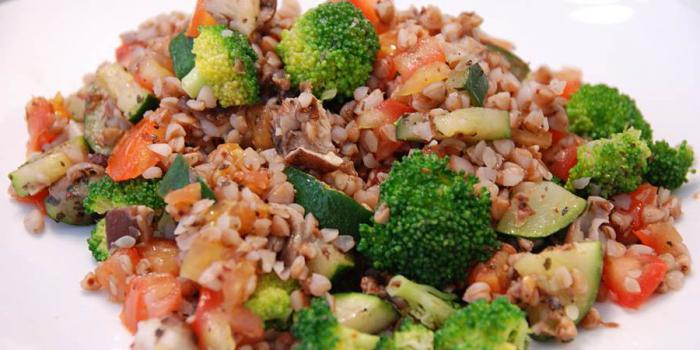 buckwheat with vegetables in a slow cooker